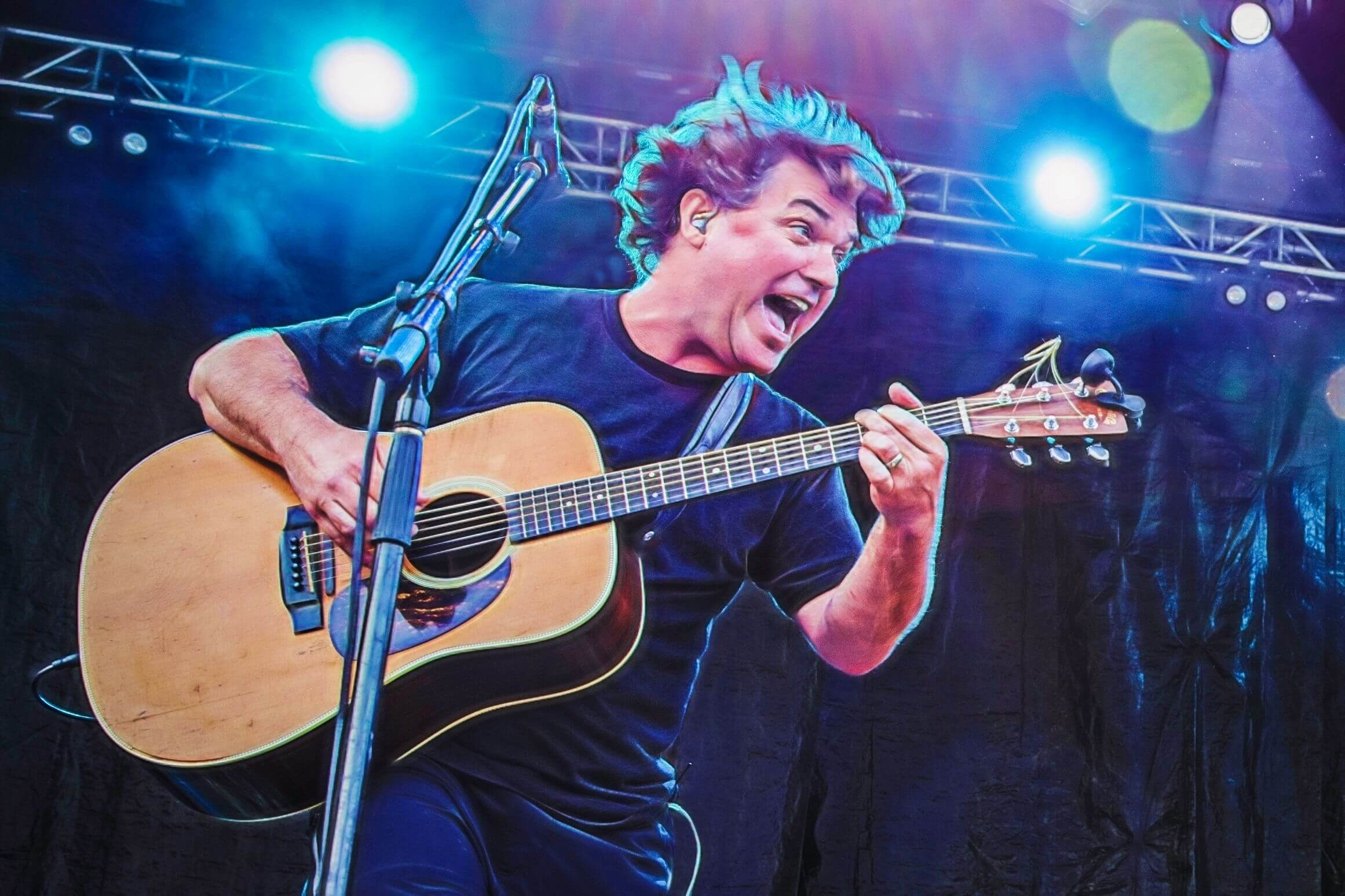 Keller Williams July 18 at The Heron